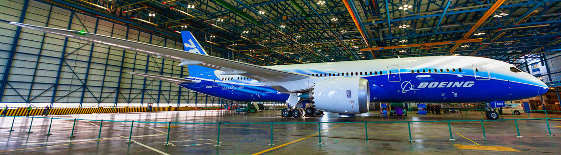 Schatz receives 6th Boeing Performance Excellence Award